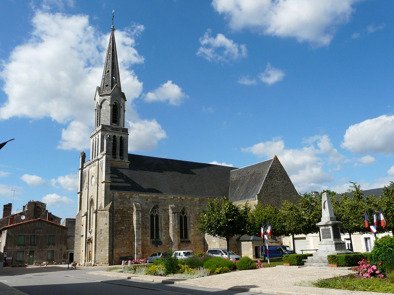 The Church of Notre Dame de l'Assomption