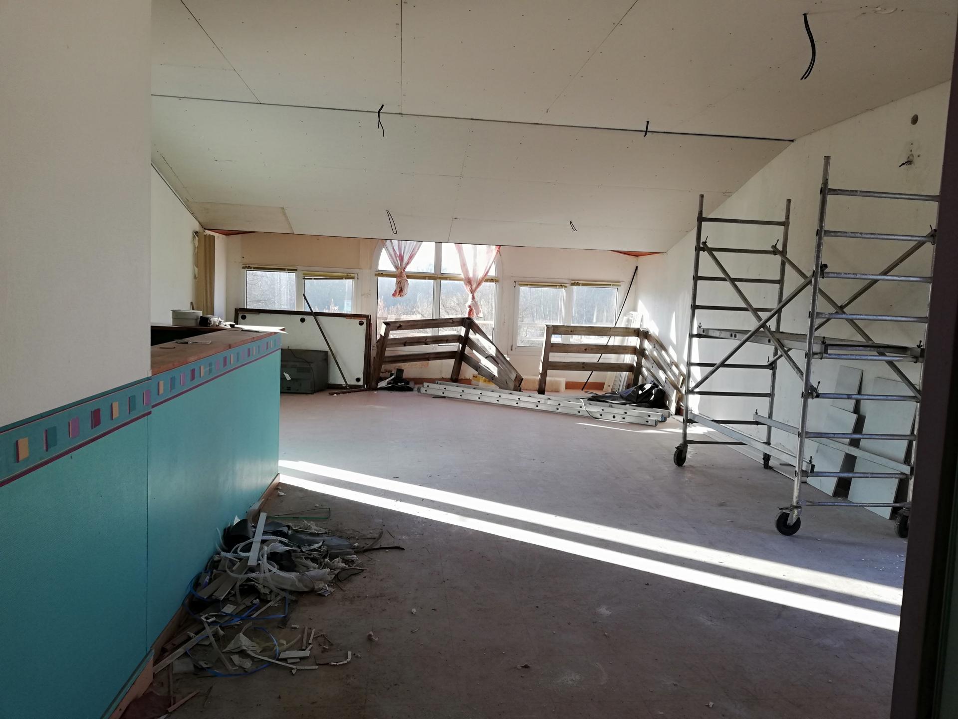 Abaissement du plafond
