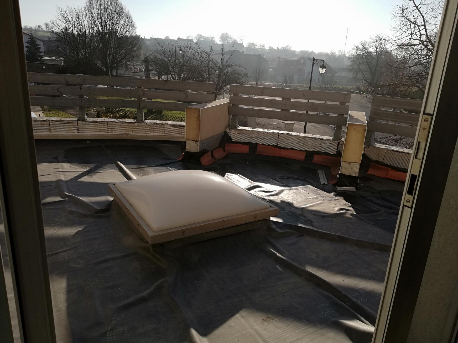 Futur toit terrasse