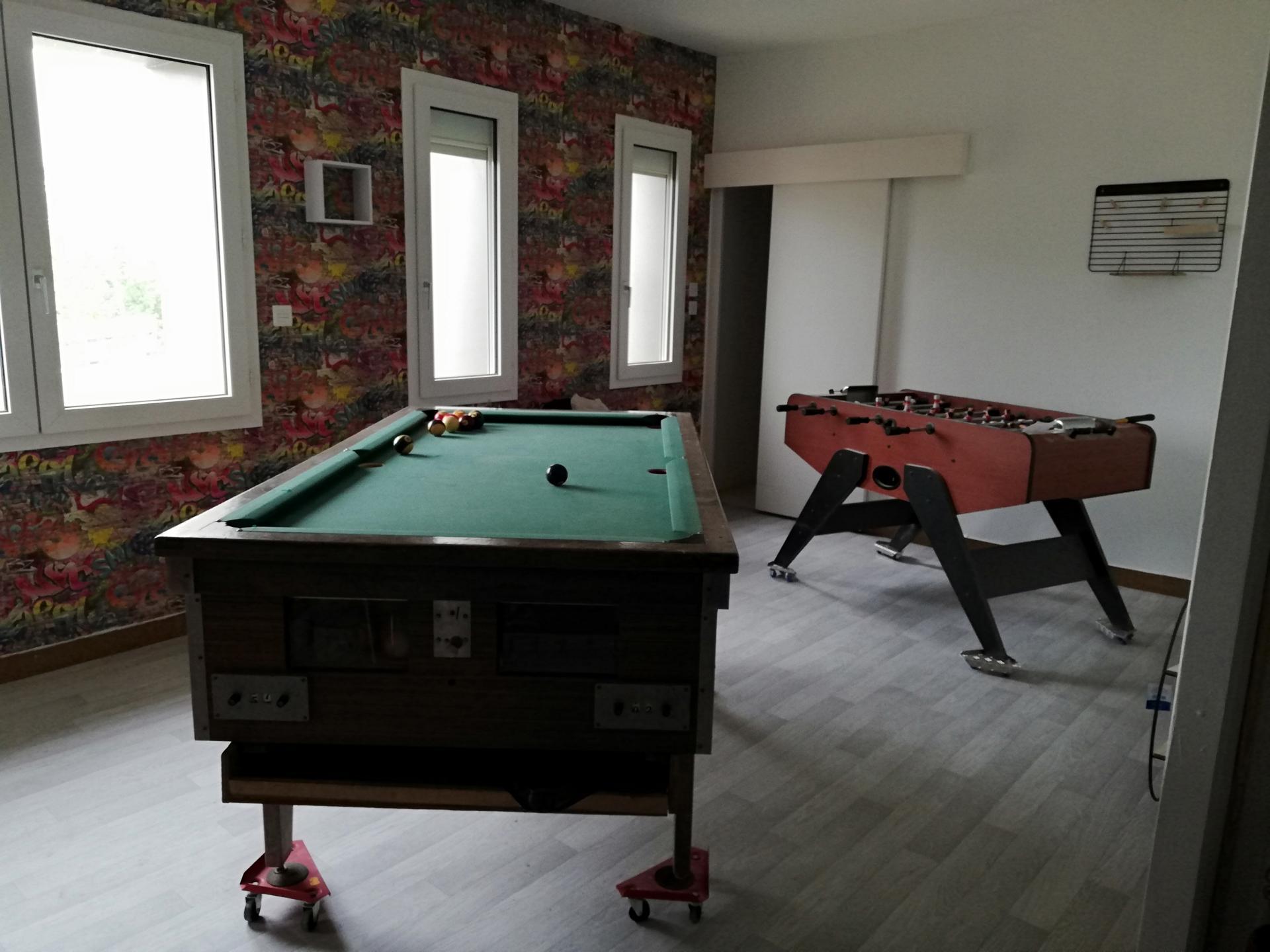 salle de loisirs privative