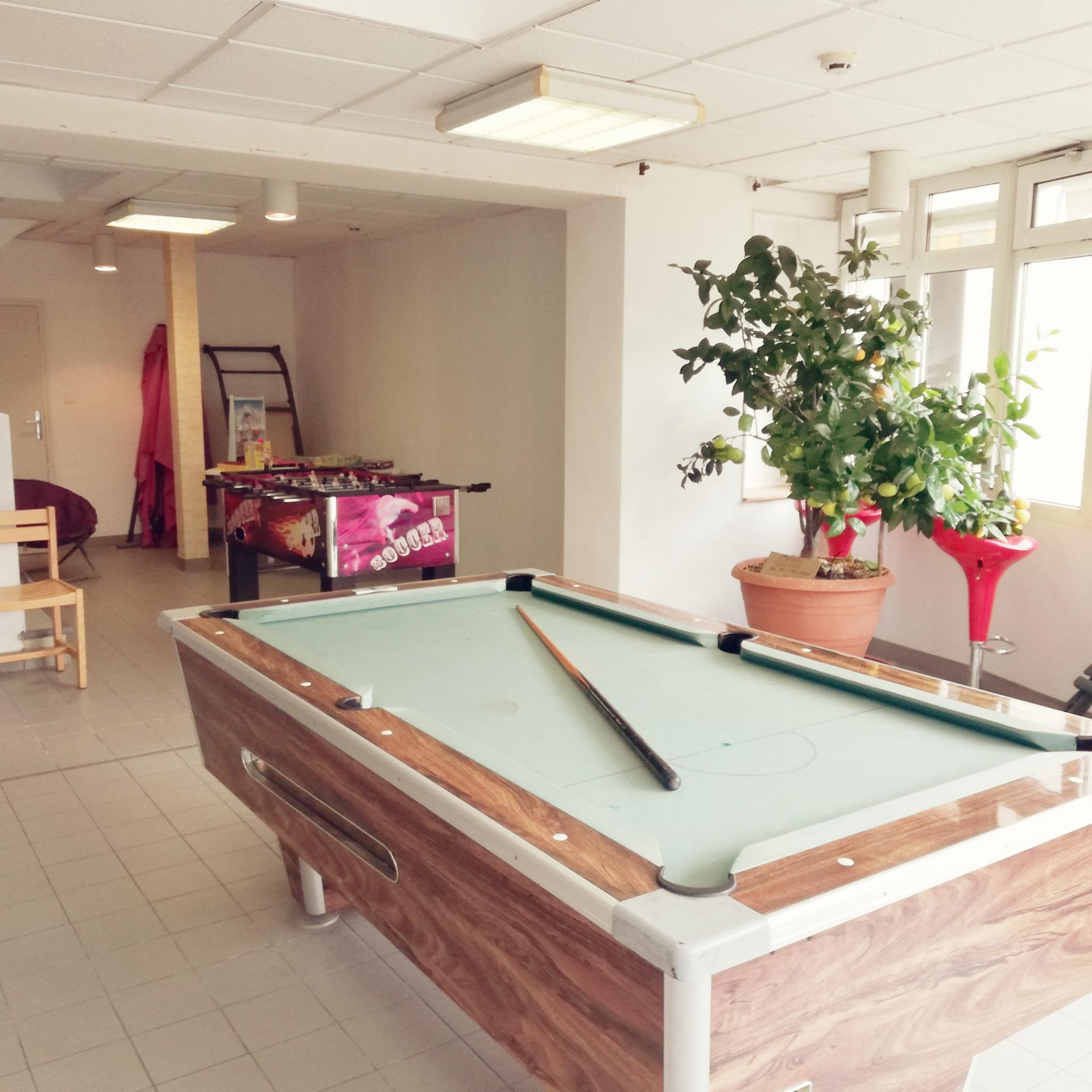 Salle de loisirs